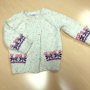 Hanna Andersson cardigan sweater infant girl
